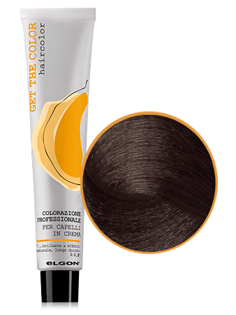 Elgon GET THE COLOR Крем-краска 5.8 светло-каштановый коричневый