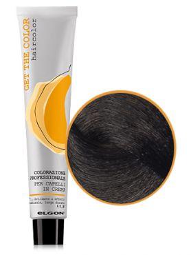 Elgon GET THE COLOR Крем-краска 6.0 темный блонд натуральный интенсивный