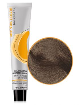 Elgon GET THE COLOR Крем-краска 8.0 светлый блонд натуральный интенсивный