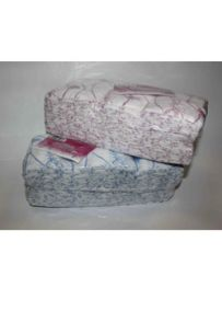 Салфетки одноразовые Размер - 30/30, Плотность - 40; --- 100 штук  розовый/голубой