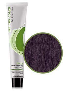 Elgon GET THE COLOR DOLCE Краска №5.7 фиолетовый светло-каштановый