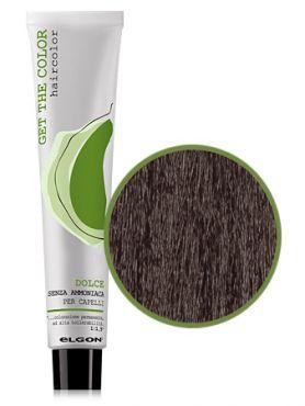 Elgon GET THE COLOR DOLCE Краска №5.83 какао золотистый коричневый светло-каштановый