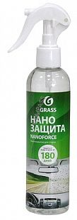 Нанопокрытие для стекла «NanoForce» GRASS (спрей) 250 мл
