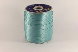 `Косая бейка, атласная, ширина 15 мм, цвет: голубой