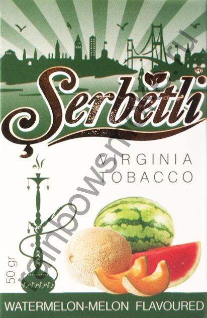 Serbetli 50 гр - Watermelon Melon (Арбуз и Дыня)