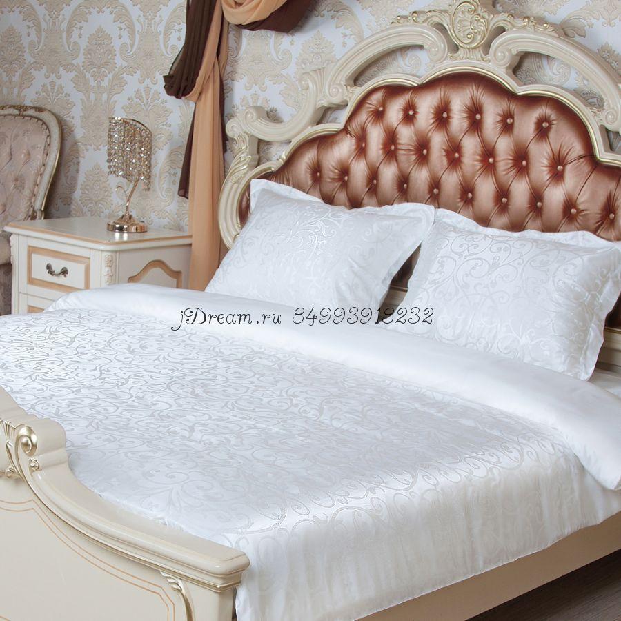Шелковое постельное белье Искрящееся Шампанское
