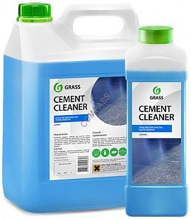 """Очиститель после ремонта """"Cement Cleaner"""" 1л; 6,3кг."""