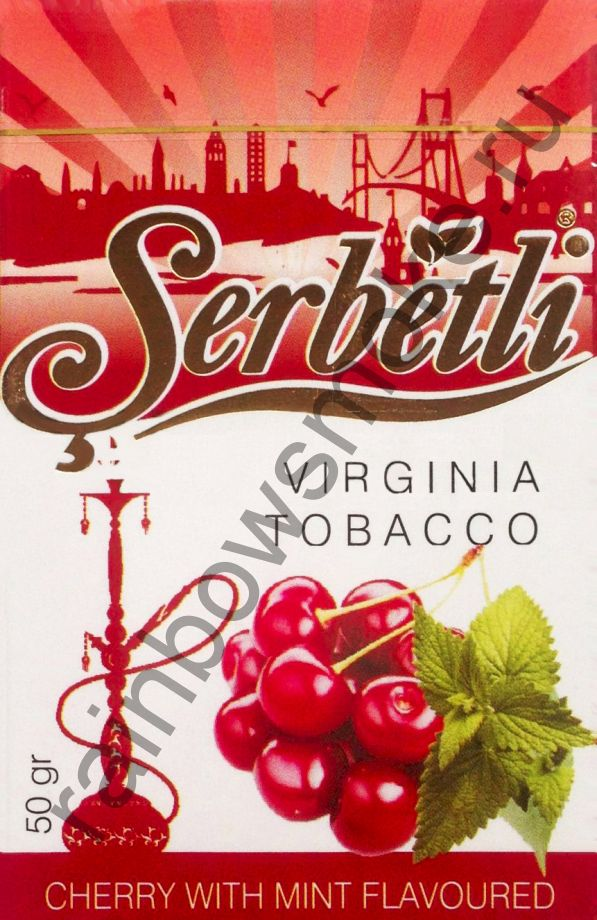Serbetli 50 гр - Cherry with Mint (Вишня с мятой)