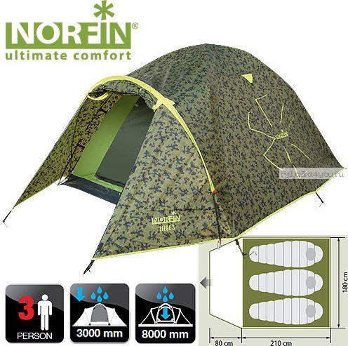 Купить Палатка Norfin Ziege 3 NC (NC-10104)
