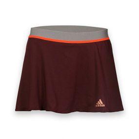Женская юбка adidas Adizero Skirt бордовая