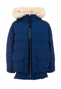 Женская куртка adidas Premium Down Parka синяя