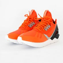 Кроссовки adidas Tubular Runner оранжевые
