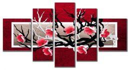 Красная сакура