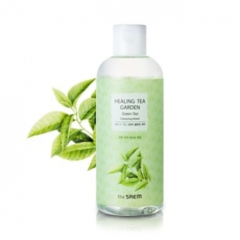 Вода очищающая увлажняющая для снятия макияжа THE SAEM Healing Tea Garden Oil In Cleansing water 300мл