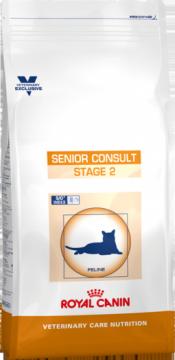 Роял канин Senior Consult Stage 2 для кошек (снят с производства, заменён на корм Ерли Ренал)