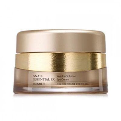 SAEM Snail Essential Крем для глаз антивозрастной Snail Essential EX Wrinkle Solution Eye Cream