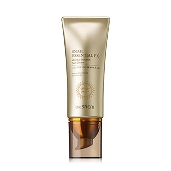 SAEM Snail Essential Крем солнцезащитный Snail Essential EX Wrinkle Solution Sun Cream