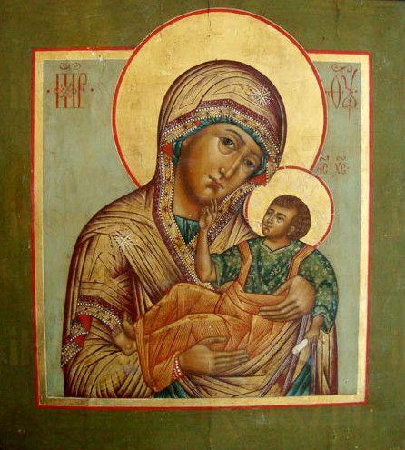 Муромская икона Божией Матери (рукописная)