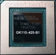 Видеочип Nvidia GK110-425-B1