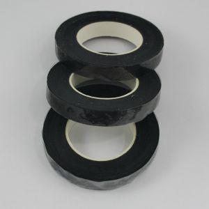 Тейп-лента 12 мм, цвет черный (1 упаковка = 5 шт)