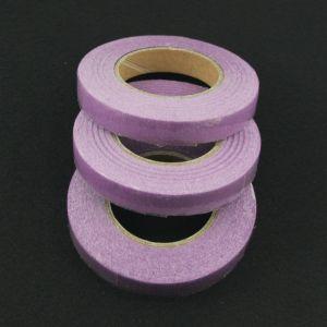 Тейп-лента 12 мм, цвет сиреневый (1 упаковка = 5 шт)