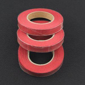 Тейп-лента 12 мм, цвет красный (1 упаковка = 5 шт)
