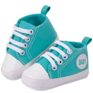 Обувь для кукол Кеды голубые 11 см
