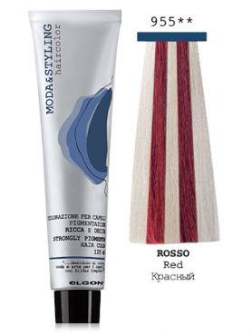 Elgon MODA&STYLING Перманентная крем-краска  955 Красный