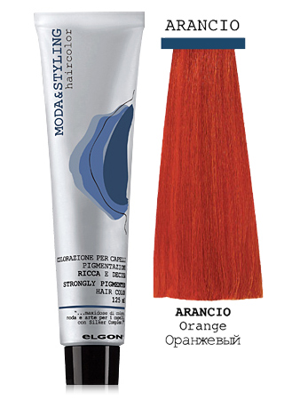 Elgon MODA&STYLING Перманентная крем-краска Оранжевый