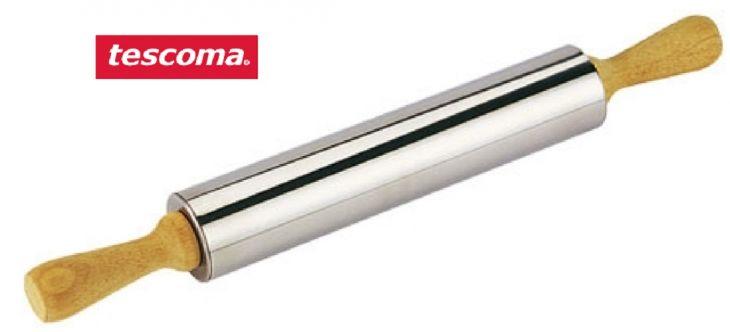 Скалка DELICIA TESCOMA  нержавеющая сталь 25 см d 5 см 630170