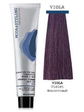 Elgon MODA&STYLING Перманентная крем-краска Фиолетовый