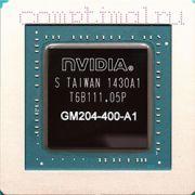 Видеочип Nvidia GM204-400-A1