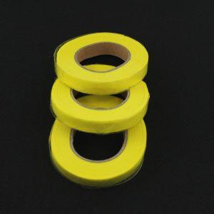 `Флористическая лента (тейп лента), ширина 12 мм, цвет желтый