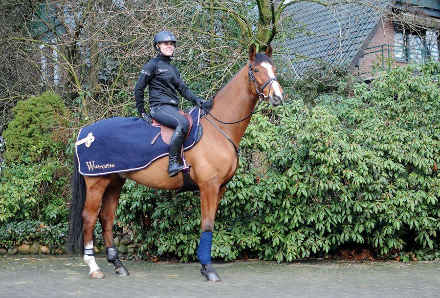 """Полупопона под седло. """"Horse Comfort"""" Изготовлена из плотной шерсти, великолепна для холодной погоды."""