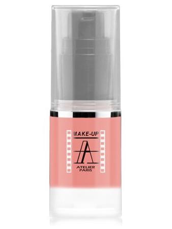 Make-Up Atelier Paris HD Fluid Blush AIRBR1 Beige rose Румяна-флюид HD Бежево-розовые