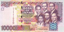 Банкнота Гана 10000 седи 2006 год