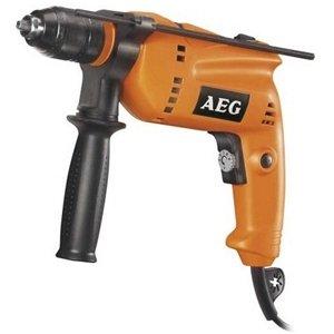 Дрель ударная AEG SBE 600 R kit 381720