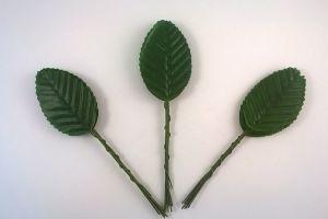 `Листик. 10 см. Цвет темно-зеленый, 10 шт