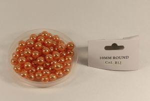 `Бусины, диаметр 10 мм, цвет В12, 10 шт