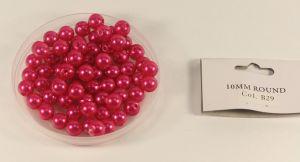 `Бусины, диаметр 10 мм, цвет В29, 10 шт