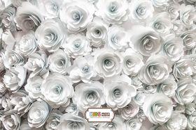 """Фон стена """"Paper flowers"""""""