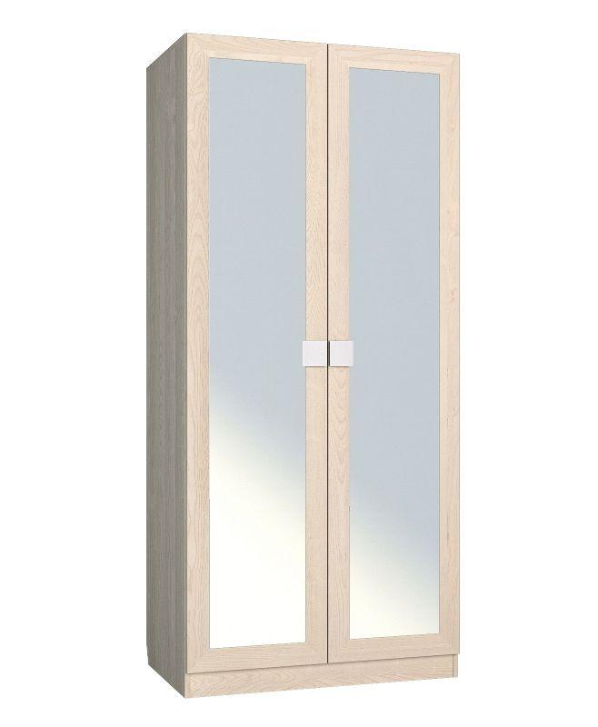 Александрия АМ-1 шкаф платяной с зеркалом