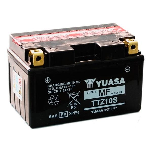Мото аккумулятор АКБ YUASA (Юаса) TTZ10S  YTZ10S 8,6Ач п.п.
