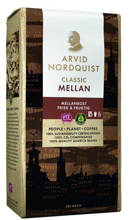 Arvid Nordquist Classic MELLAN  кофе молотый