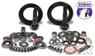 Yukon Gear & Install Kit package for Jeep JK non-Rubicon, 4.56 ratio