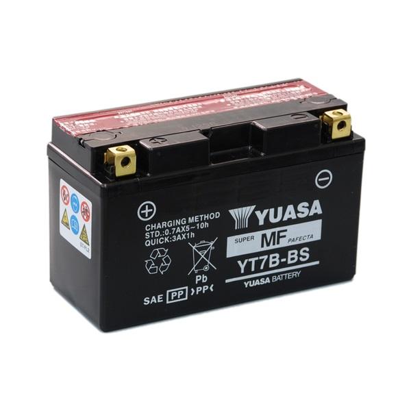 Мото аккумулятор АКБ YUASA (Юаса) YT7B-BS 7B-4 6,5Ач п.п.