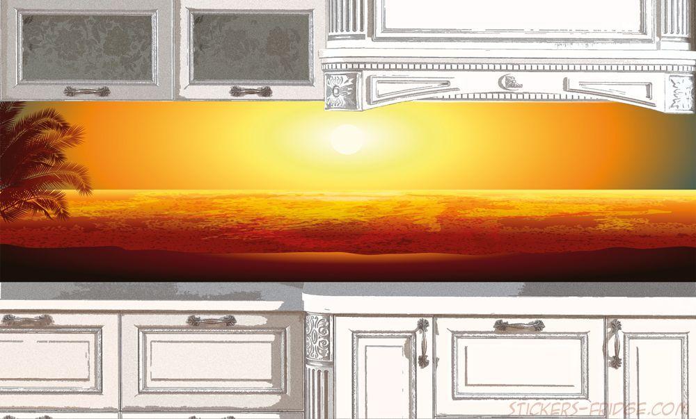 Фартук для кухни - Пляж 3