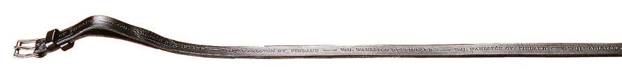 Ремень для фиксации боковых палок качалки 40 см х 22 мм