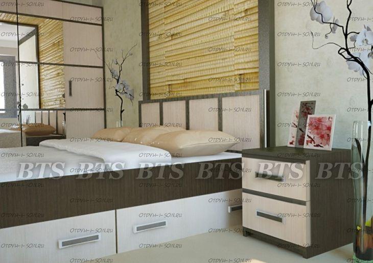 Спальня Сакура №5 BTS