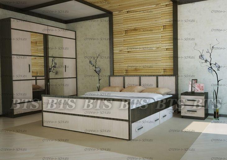 Спальня Сакура №6 BTS
